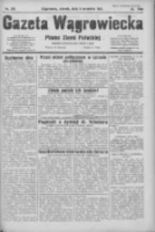 Gazeta Wągrowiecka: pismo ziemi pałuckiej 1931.09.08 R.11 Nr206