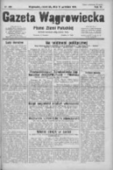 Gazeta Wągrowiecka: pismo ziemi pałuckiej 1931.09.10 R.11 Nr208