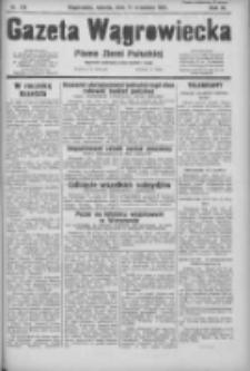 Gazeta Wągrowiecka: pismo ziemi pałuckiej 1931.09.12 R.11 Nr210