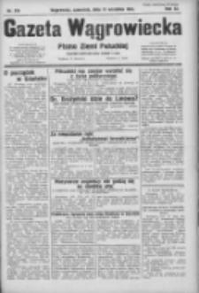 Gazeta Wągrowiecka: pismo ziemi pałuckiej 1931.09.17 R.11 Nr214