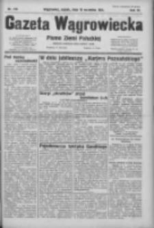 Gazeta Wągrowiecka: pismo ziemi pałuckiej 1931.09.18 R.11 Nr215