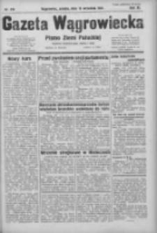 Gazeta Wągrowiecka: pismo ziemi pałuckiej 1931.09.19 R.11 Nr216