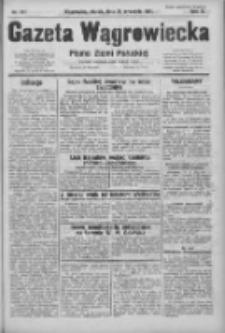 Gazeta Wągrowiecka: pismo ziemi pałuckiej 1931.09.25 R.11 Nr221