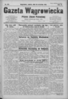 Gazeta Wągrowiecka: pismo ziemi pałuckiej 1931.09.26 R.11 Nr222