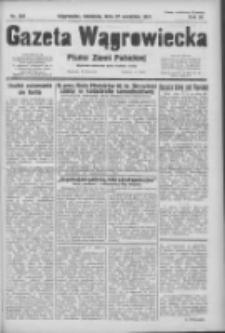 Gazeta Wągrowiecka: pismo ziemi pałuckiej 1931.09.27 R.11 Nr223