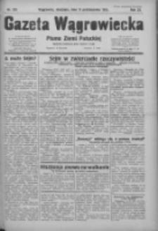 Gazeta Wągrowiecka: pismo ziemi pałuckiej 1931.10.11 R.11 Nr235