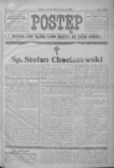 Postęp: narodowe pismo katolicko-ludowe niezależne pod każdym względem 1916.01.04 R.27 Nr2