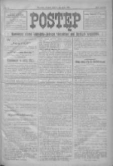 Postęp: narodowe pismo katolicko-ludowe niezależne pod każdym względem 1916.01.08 R.27 Nr5