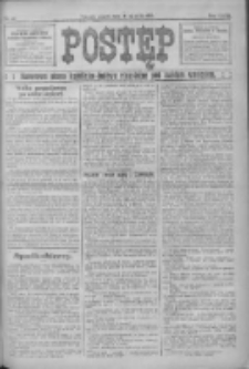 Postęp: narodowe pismo katolicko-ludowe niezależne pod każdym względem 1916.01.21 R.27 Nr16