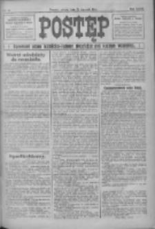 Postęp: narodowe pismo katolicko-ludowe niezależne pod każdym względem 1916.01.22 R.27 Nr17