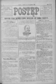 Postęp: narodowe pismo katolicko-ludowe niezależne pod każdym względem 1916.01.25 R.27 Nr19