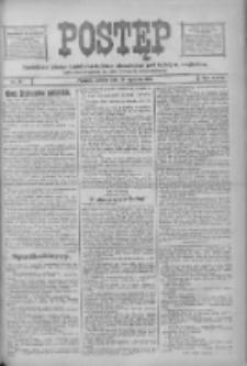 Postęp: narodowe pismo katolicko-ludowe niezależne pod każdym względem 1916.01.29 R.27 Nr23