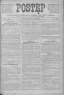Postęp: narodowe pismo katolicko-ludowe niezależne pod każdym względem 1916.02.01 R.27 Nr25