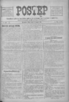 Postęp: narodowe pismo katolicko-ludowe niezależne pod każdym względem 1916.02.05 R.27 Nr28