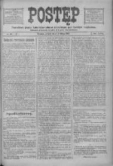 Postęp: narodowe pismo katolicko-ludowe niezależne pod każdym względem 1916.02.15 R.27 Nr36