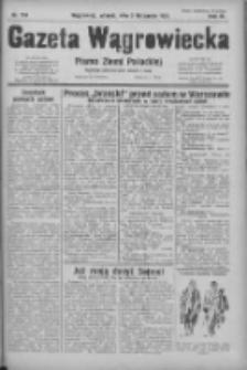 Gazeta Wągrowiecka: pismo ziemi pałuckiej 1931.11.02 R.11 Nr254