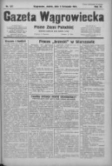 Gazeta Wągrowiecka: pismo ziemi pałuckiej 1931.11.06 R.11 Nr257