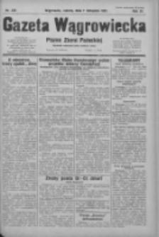 Gazeta Wągrowiecka: pismo ziemi pałuckiej 1931.11.07 R.11 Nr258