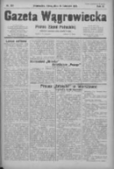 Gazeta Wągrowiecka: pismo ziemi pałuckiej 1931.11.11 R.11 Nr261