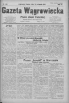 Gazeta Wągrowiecka: pismo ziemi pałuckiej 1931.11.13 R.11 Nr263