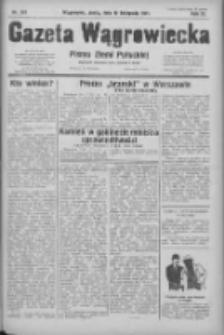 Gazeta Wągrowiecka: pismo ziemi pałuckiej 1931.11.18 R.11 Nr267