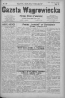 Gazeta Wągrowiecka: pismo ziemi pałuckiej 1931.11.21 R.11 Nr270