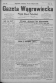 Gazeta Wągrowiecka: pismo ziemi pałuckiej 1931.11.22 R.11 Nr271
