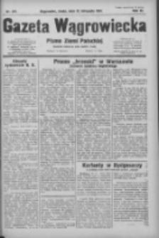Gazeta Wągrowiecka: pismo ziemi pałuckiej 1931.11.25 R.11 Nr273