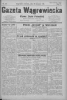 Gazeta Wągrowiecka: pismo ziemi pałuckiej 1931.11.29 R.11 Nr277