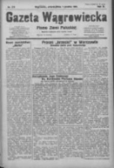 Gazeta Wągrowiecka: pismo ziemi pałuckiej 1931.12.01 R.11 Nr278