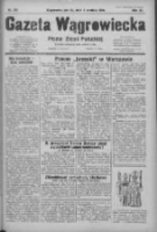 Gazeta Wągrowiecka: pismo ziemi pałuckiej 1931.12.04 R.11 Nr281