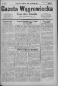 Gazeta Wągrowiecka: pismo ziemi pałuckiej 1931.12.15 R.11 Nr289