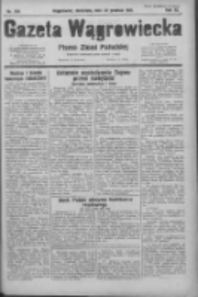Gazeta Wągrowiecka: pismo ziemi pałuckiej 1931.12.20 R.11 Nr294