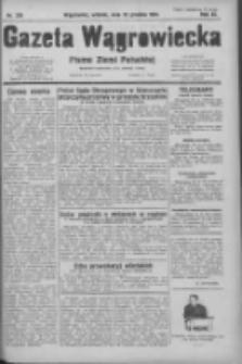 Gazeta Wągrowiecka: pismo ziemi pałuckiej 1931.12.22 R.11 Nr295