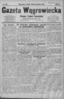 Gazeta Wągrowiecka: pismo ziemi pałuckiej 1931.12.29 R.11 Nr299