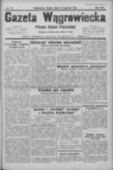 Gazeta Wągrowiecka: pismo ziemi pałuckiej 1934.01.19 R.14 Nr14