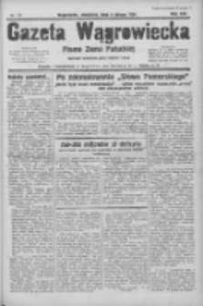 Gazeta Wągrowiecka: pismo ziemi pałuckiej 1934.02.04 R.14 Nr27