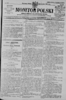 Monitor Polski. Dziennik Urzędowy Rzeczypospolitej Polskiej. 1928.09.22 R.11 nr219