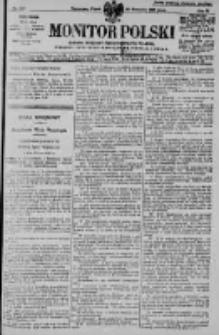 Monitor Polski. Dziennik Urzędowy Rzeczypospolitej Polskiej. 1928.09.28 R.11 nr224