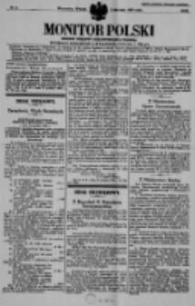 Monitor Polski. Dziennik Urzędowy Rzeczypospolitej Polskiej. 1939.01.03 R.22 nr2
