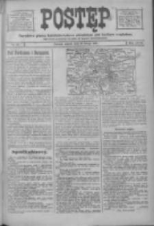Postęp: narodowe pismo katolicko-ludowe niezależne pod każdym względem 1916.02.29 R.27 Nr48