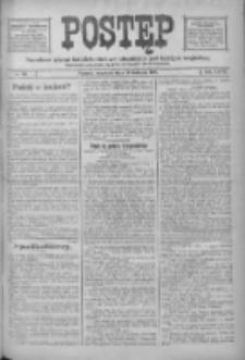 Postęp: narodowe pismo katolicko-ludowe niezależne pod każdym względem 1916.04.13 R.27 Nr86