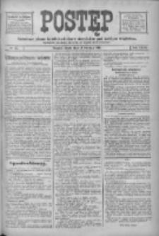 Postęp: narodowe pismo katolicko-ludowe niezależne pod każdym względem 1916.04.14 R.27 Nr87