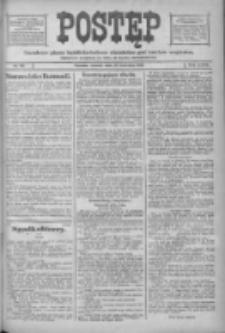 Postęp: narodowe pismo katolicko-ludowe niezależne pod każdym względem 1916.04.18 R.27 Nr90