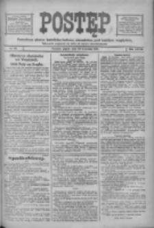 Postęp: narodowe pismo katolicko-ludowe niezależne pod każdym względem 1916.04.28 R.27 Nr97