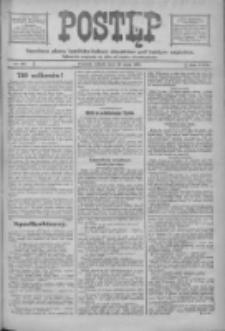 Postęp: narodowe pismo katolicko-ludowe niezależne pod każdym względem 1916.05.20 R.27 Nr115