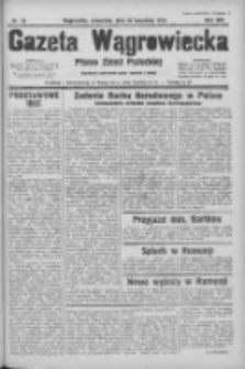 Gazeta Wągrowiecka: pismo ziemi pałuckiej 1934.04.19 R.14 Nr89