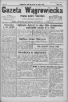 Gazeta Wągrowiecka: pismo ziemi pałuckiej 1934.05.25 R.14 Nr117