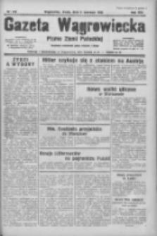 Gazeta Wągrowiecka: pismo ziemi pałuckiej 1934.06.06 R.14 Nr126