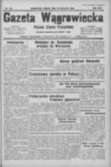 Gazeta Wągrowiecka: pismo ziemi pałuckiej 1934.06.15 R.14 Nr134
